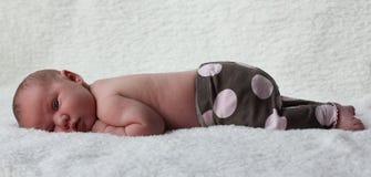 девушка newborn стоковые фотографии rf