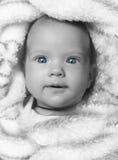 девушка newborn Стоковое Изображение