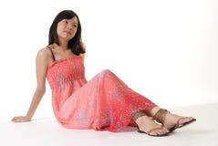 девушка oriental Стоковые Изображения RF