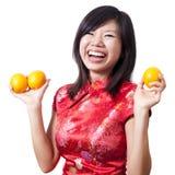 девушка oriental Стоковое Изображение RF