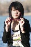 девушка oriental Стоковые Фото