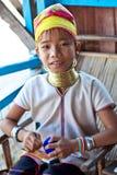 Девушка Padaung, Myanmar Стоковые Фотографии RF
