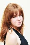 девушка redheaded Стоковое фото RF