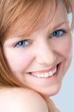 девушка redheaded Стоковое Фото