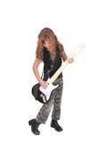 девушка rockstar Стоковое Изображение RF