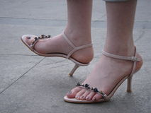 девушка s ноги Стоковое Изображение