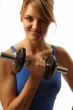 девушка sporty Стоковая Фотография RF