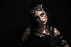 Девушка SteamPunk Стоковые Фото