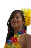 Девушка Tahitian Стоковое Изображение