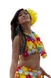 Девушка Tahitian Стоковая Фотография RF