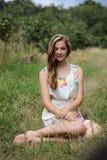 Девушка Ukrain портрета Стоковое Изображение RF
