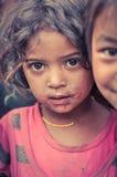 Девушки визируют в Непале Стоковые Изображения RF