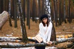 Девушки в древесине Стоковое Изображение RF