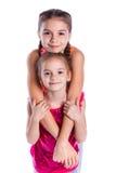 Девушки в студии Стоковое Изображение RF