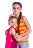 Девушки в студии Стоковая Фотография RF