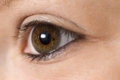 девушки глаза стоковые изображения rf