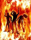 девушки горячие Стоковое Изображение