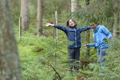 Девушки леса Стоковые Изображения