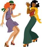 Девушки диско иллюстрация штока