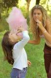 девушки конфеты Стоковое Изображение