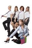 Девушки на paty Стоковое фото RF