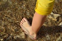 Девушки ноги Стоковые Изображения RF
