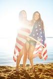 Девушки от Америки Стоковое Изображение