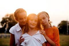 девушки подростковые 2 Стоковое Изображение