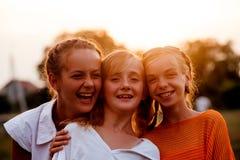 девушки подростковые 2 Стоковая Фотография