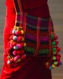 Девушки рюкзака Стоковое Изображение