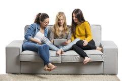 девушки самонаводят подростковое Стоковые Фотографии RF