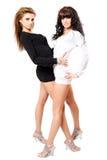 девушки сексуальные 2 стоковое изображение