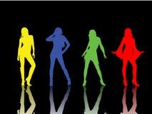 девушки сексуальные Стоковые Фотографии RF