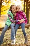 Девушки сестры Стоковые Фотографии RF