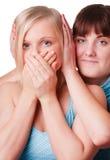девушки совместно tstanding 2 Стоковое Фото