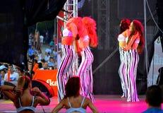 Девушки современного балета Стоковое фото RF