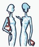 Девушки сплетни Стоковые Фотографии RF