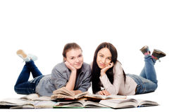Девушки студента Стоковая Фотография