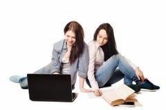 Девушки студента Стоковые Изображения RF