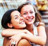Девушки студентов Стоковые Изображения