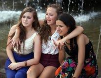 Девушки студентов Стоковое Фото