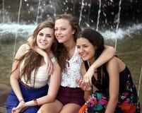 Девушки студентов Стоковая Фотография