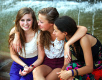 Девушки студентов Стоковая Фотография RF