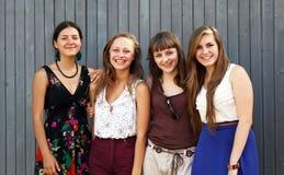 Девушки студентов Стоковые Изображения RF