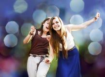 Девушки студентов Стоковые Фотографии RF