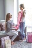 Девушки с одеждами Стоковая Фотография RF