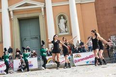 Девушки танцев Стоковые Изображения RF