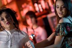 девушки танцы славные 2 Стоковая Фотография RF