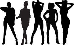 девушки танцы Стоковое фото RF