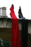 девушки ткани Стоковое Изображение RF